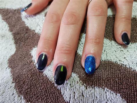 nail art tutorial with glitter nail art tutorial blu notte glitter calipsomakeup com