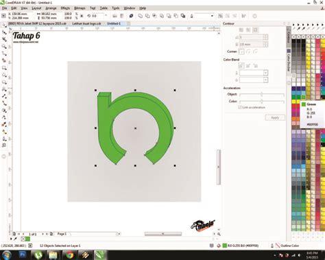 tutorial membuat logo nama tutorial cara mudah membuat logo menggunakan coreldraw