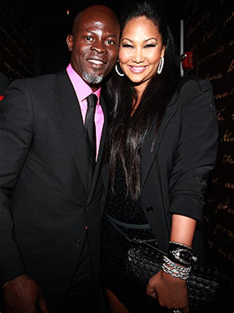 Kimora Simmons New Boyfriend Dijimon Hounsou by Kimora Simmons Djimon Hounsou Split
