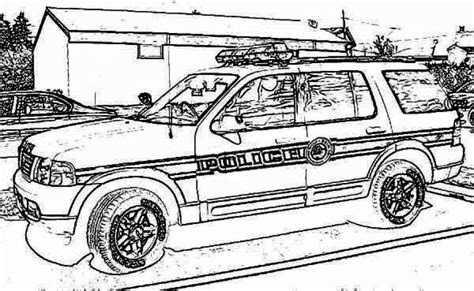 coloring pages cop cars get this printable police car coloring pages 01827