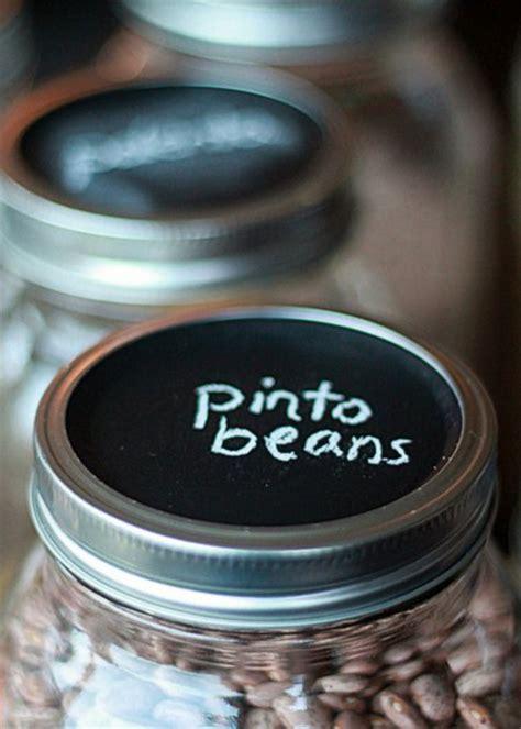 Chalkboard Paint   Mason Jars = Frugal & Flexible Dry
