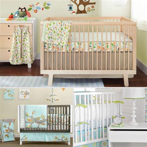 unisex nursery bedding sets unisex crib bedding popsugar