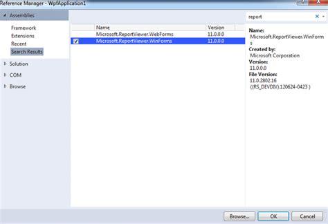 reportviewer wpf wpf report viewer tutorial b 224 i viết stdio