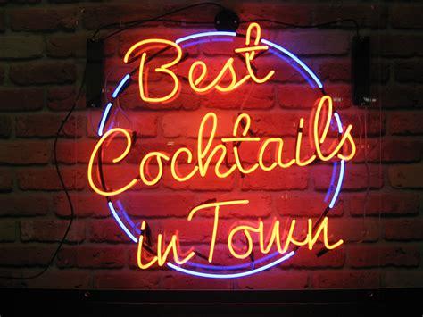 martini bar sign neon bar sign neon creations