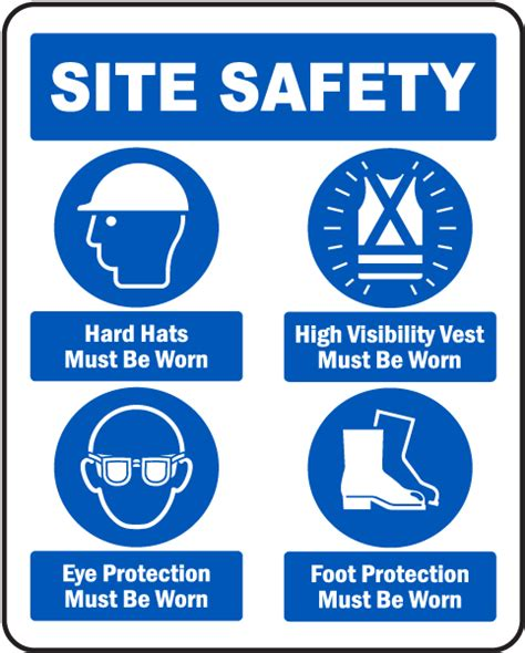 Safety Shoes Athena 4in 36 3 site safety mandatory ppe sign g2615 by safetysign