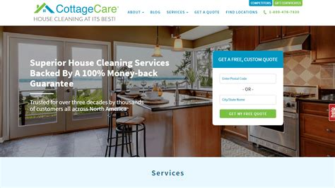 Cottage Care Cleaning by 21 Well Kept Cleaning Services Websites Industry