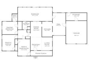 house flor plan