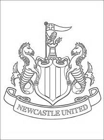 newcastle united coloring coloring pages