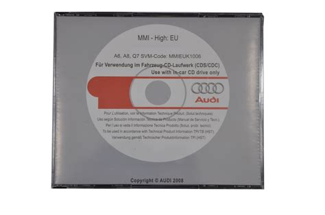 Audi Mmi 2g Update by Mmi High Update Anleitung Sw5570 3cd F 252 R Audi A6 A8 Q7