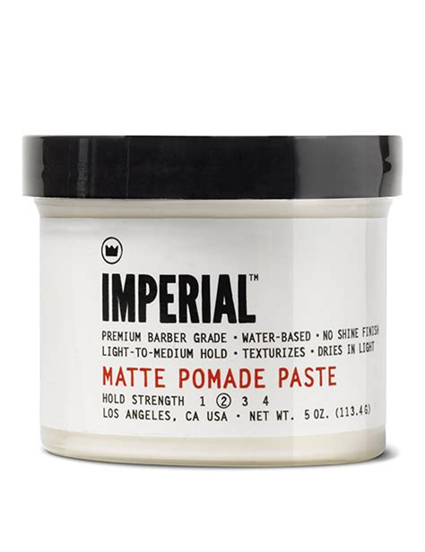paste pomade and claywhats the difference mister imperial barber products matte pomade paste slick styles