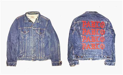 Pablo Denim Jacket i feel like pablo merchandise joe perez