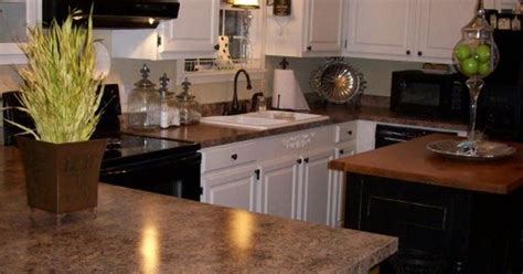 kitchen cabinets maple espresso countertops formica painted black and white kitchen i have the same formica