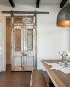 Reclaimed Sliding Barn Doors Farmhouse Interior Design Ideas Home Bunch Interior Design Ideas