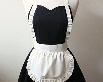pattern for maids apron popular items for maid apron on etsy
