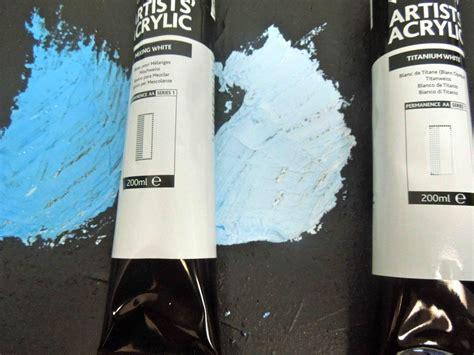 Mixing White how to mixing white vs titanium white dasilva