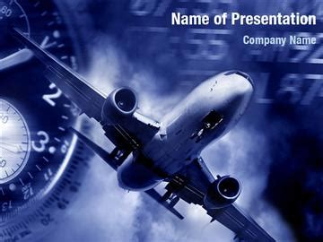Global Airlines Powerpoint Templates Global Airlines Airline Ppt Template