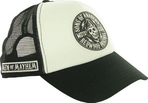 Topi Trucker Cat Mario 4 sons of anarchy circle emblem trucker hat