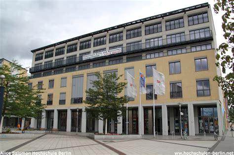 Bewerbung Salomon Hochschule Berlin Salomon Hochschule Berlin Hochschulen Berlin