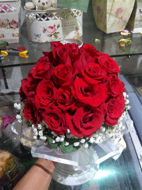 Bouquet Bunga Mawar Flanel Isi 6 Tangkai Untuk Anniversary Dll 7 http tokobungatmii co id p toko bunga di taman mini html toko bunga taman mini