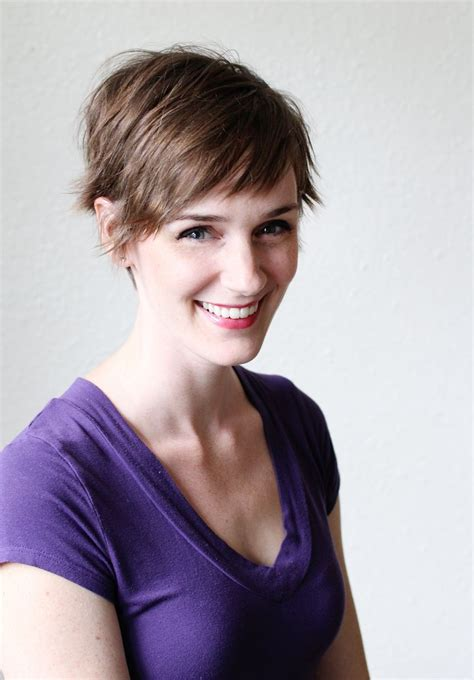 styling a side shave pixie cut 3 ways to style a pixie cut a beautiful mess