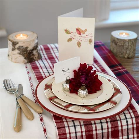 place setting ideas place settings essential christmas decorations