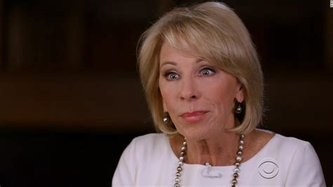 betsy devos interview devos haven t visited underperforming schools cnn video
