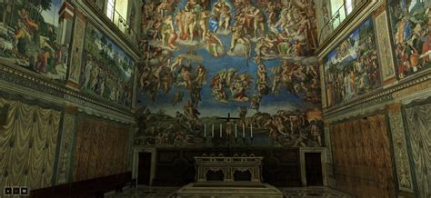 Sistine Chapel Ceiling Tour 360 by Visit The Sistine Chapel In 360 Degrees From Your