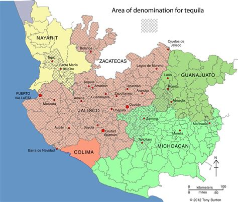 jalisco map tequila overview whiskysnob s