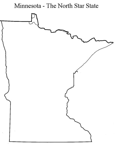 minnesota outline clip art 24
