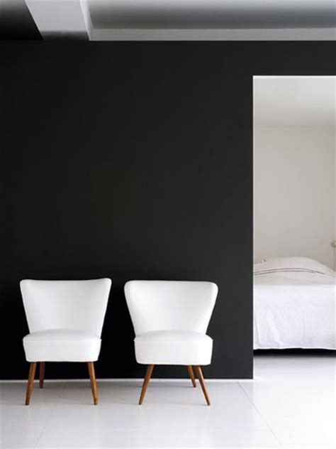 matte black walls home dzine fade to black decorating with black