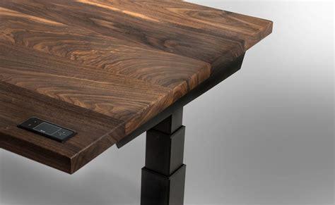 sway adjustable height wooden desk 187 gadget flow