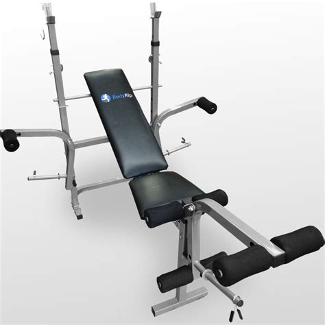 collapsible weight lifting bench bodyrip folding weight bench gym exercise lifting chest