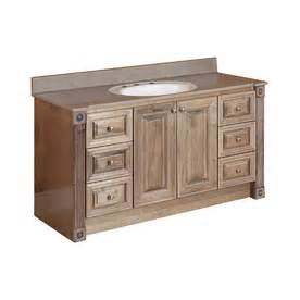 Lowes Rustic Vanity Magick Woods 54 Quot Rustic Glazed Duchess Traditional Bath Vanity
