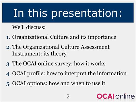organizational culture assessment instrument template organizational culture assessment instrument ocai model