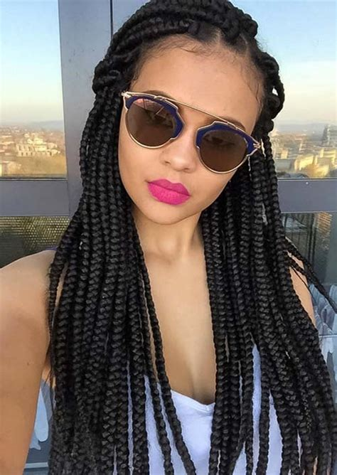 down hairstyles with box braids 35 awesome box braids hairstyles you simply must try