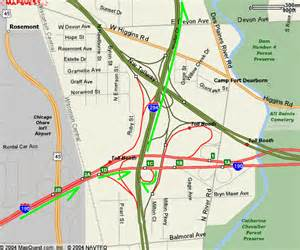 Illinois Tollway Map by Map Of Interstate 294 Related Keywords Amp Suggestions Map