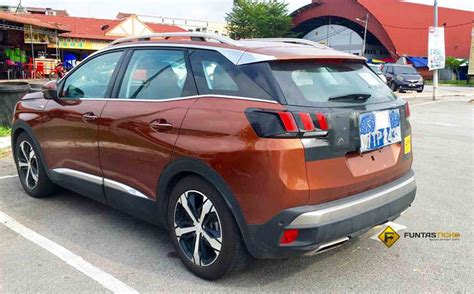 peugeot malaysia spied 2017 peugeot 3008 seen in malaysia could debut
