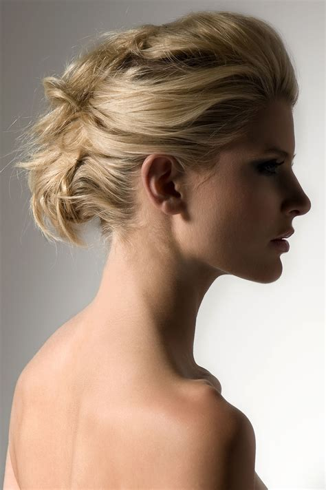 up do hair how to piled and pinned updo