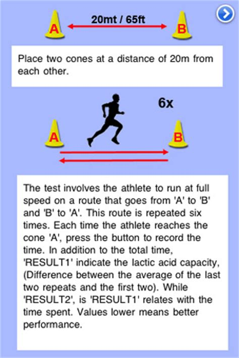 yo yo test yo yo endurance test app for iphone sports