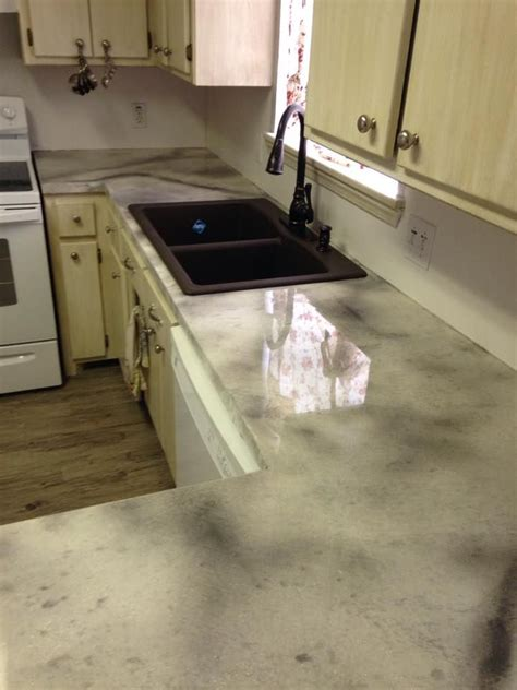 Concrete Overlay Countertops by 136 Best Images About Do It Yourself Concrete Countertops