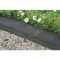 Wooden Sleepers Wickes by Railway Sleeper Driveway Edging Gardening