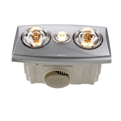 3 in 1 heater lights bathroom heller 2 x 275w led silver 3 in 1 bathroom heater