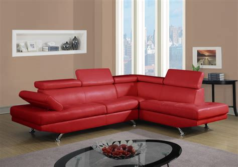 red sofa sectional red sofa sectional otto furniture decor