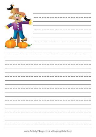 autumn writing paper autumn writing paper