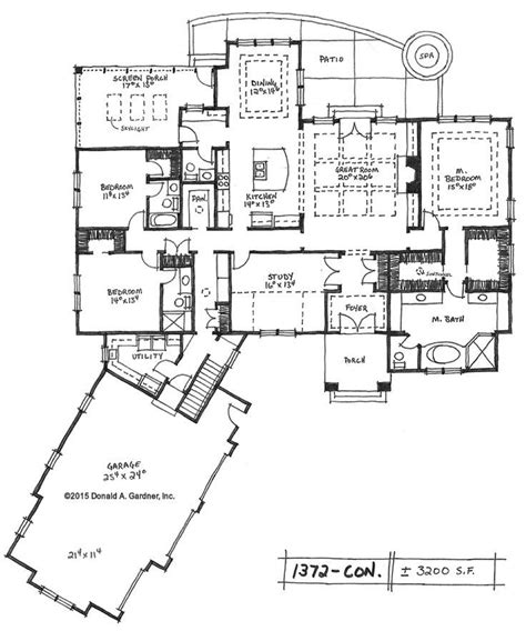 Large Ranch Home Floor Plans by Awesome Large Ranch House Plans New Home Plans Design