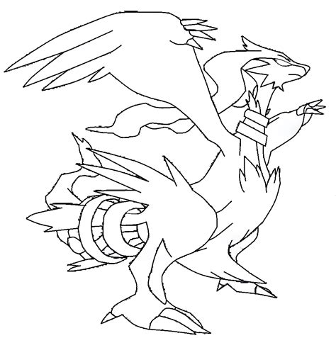 pokemon coloring pages of zekrom and reshiram coloriage reshiram pokemon 224 imprimer
