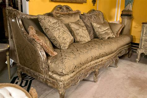 sofa style daybed palatial louis xv style sofa or daybed at 1stdibs