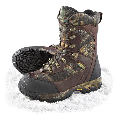 guide gear mens sports hunting boots 1200 gram men s silvis 174 1 200 gram thinsulate ultra insulated