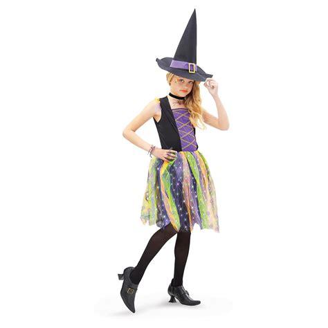 Light Up Rainbow Witch Child Costume Buycostumes Com Light Up Costume