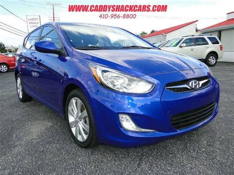2012 Hyundai Accent Mpg by 2012 Hyundai Accent Se 4dr Hatchback In Edgewater Md